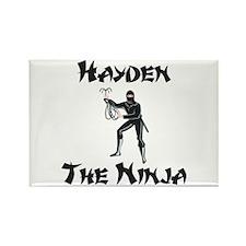 Hayden - The Ninja Rectangle Magnet