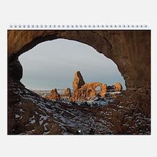 Snowy Desert Calendar