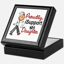 I Support My Daughter 1 (SFT LC) Keepsake Box