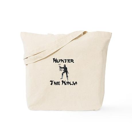 Hunter - The Ninja Tote Bag