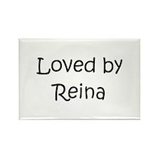 Funny Reina Rectangle Magnet