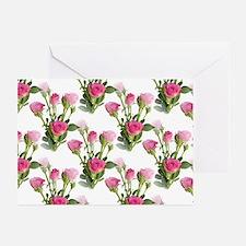 Beautiful Pink Roses Greeting Cards (Pk of 10)