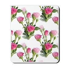 Beautiful Pink Roses Mousepad