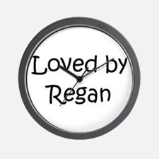Cute Regan Wall Clock