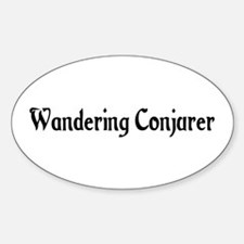 Wandering Conjurer Oval Decal