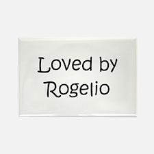 Cute Rogelio Rectangle Magnet