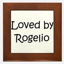 Unique Rogelio Framed Tile