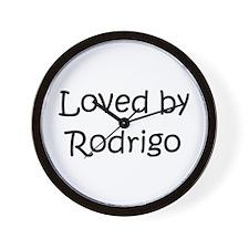 Cute Rodrigo's Wall Clock
