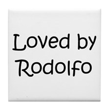 Cute Rodolfo Tile Coaster