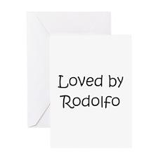 Cute Rodolfo Greeting Card