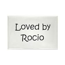 Cute Rocio Rectangle Magnet