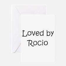 Funny Rocio Greeting Card