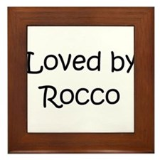 Cute Rocco Framed Tile