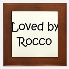 Unique Rocco Framed Tile