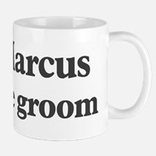 Marcus the groom Small Mugs