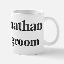Johnathan the groom Small Small Mug