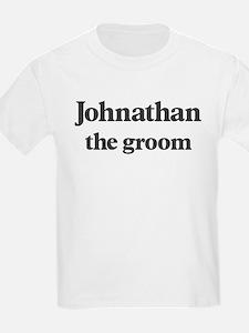 Johnathan the groom T-Shirt