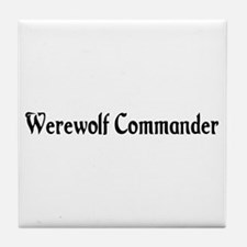 Werewolf Commander Tile Coaster