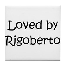 Cute Rigoberto Tile Coaster