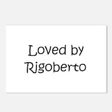Cute Rigoberto Postcards (Package of 8)