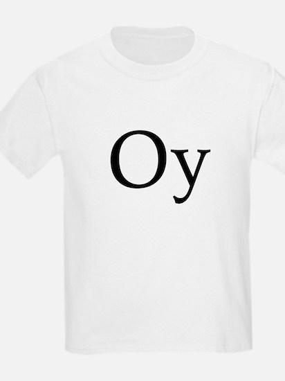 """Jewish """"Oy"""" Kids T-Shirt"""