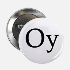 "Jewish ""Oy"" 2.25"" Button (100 pack)"