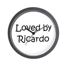 Cute Ricardo Wall Clock