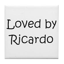 Unique Ricardo Tile Coaster