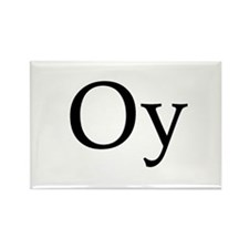 "Jewish ""Oy"" Rectangle Magnet"