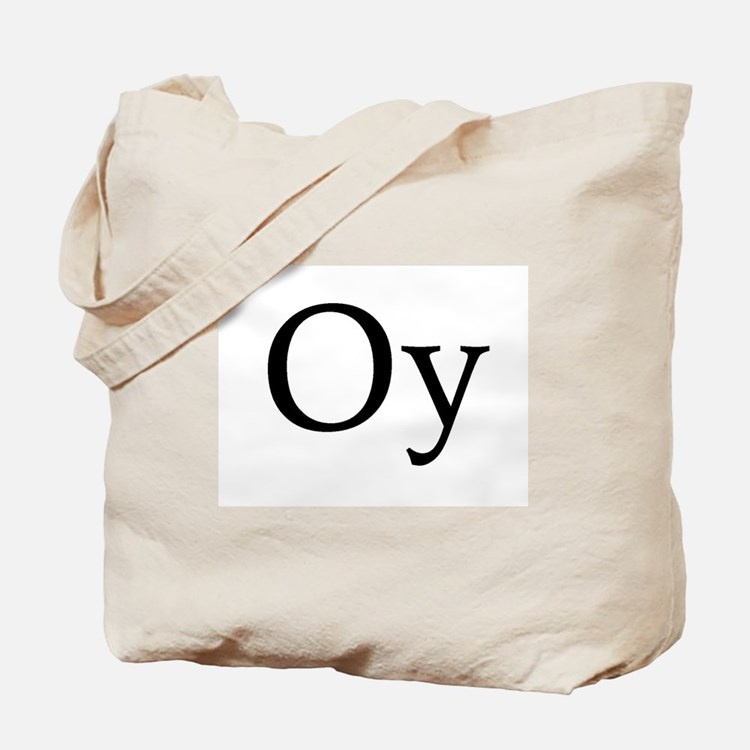 "Jewish ""Oy"" Tote Bag"