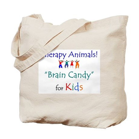 Therapy Animals! Brain Candy Tote Bag