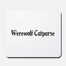 Werewolf Cutpurse Mousepad