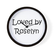 Unique Roselyn Wall Clock