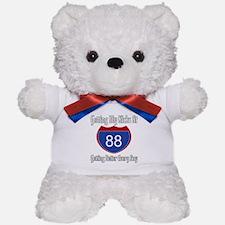 88th Birthday Teddy Bear