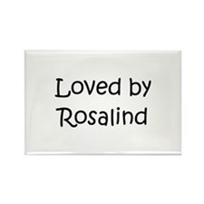 Cute Rosalind Rectangle Magnet