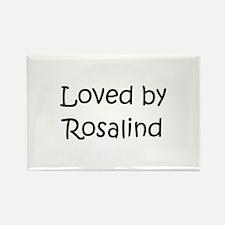 Cute Rosalind Rectangle Magnet