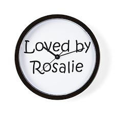 Cute Rosalie Wall Clock