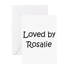 Cool Rosalie Greeting Card