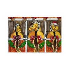 Norwegian Fjord Horse Rectangle Magnet (10 pack)