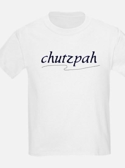 "Jewish ""chutzpah"" Kids T-Shirt"