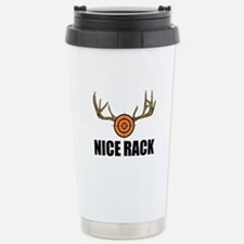 Nice Rack! Stainless Steel Travel Mug