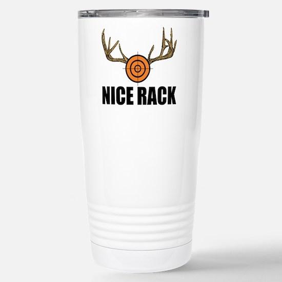 Nice Rack! Stainless Steel Travel Mug