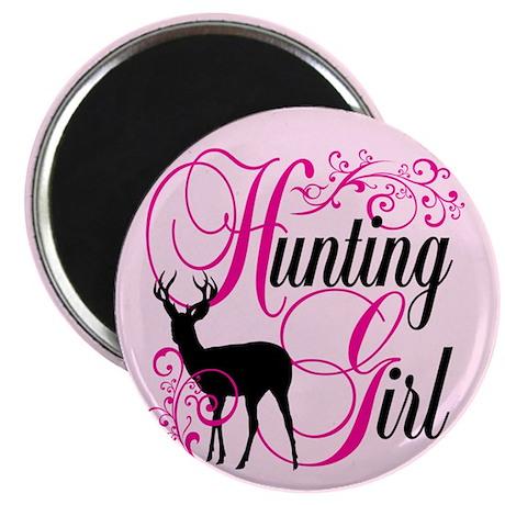 """Hunting Girl 2.25"""" Magnet (10 pack)"""