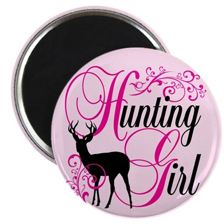 """Hunting Girl 2.25"""" Magnet (100 pack)"""