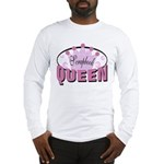 Srapbook Queen Long Sleeve T-Shirt