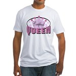 Srapbook Queen Fitted T-Shirt