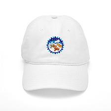 Log Cabin Sheltie Baseball Cap