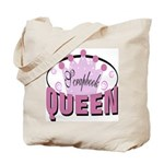 Srapbook Queen Tote Bag