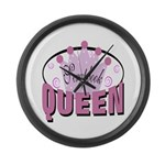 Srapbook Queen Large Wall Clock