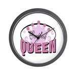 Srapbook Queen Wall Clock